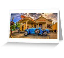 Bugatti 1927 Greeting Card