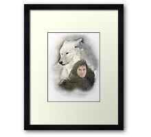John Snow Framed Print