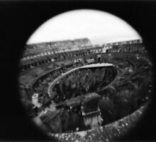 Eye of the Colosseum  by Yao Liang Chua