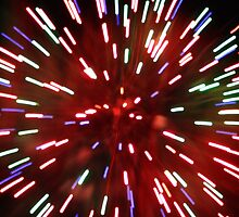 Colourful Fireworks by Jasmine Hutter