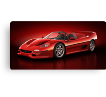 Ferrari F50 - Flare Canvas Print
