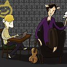 221 B quiet time by Bantambb