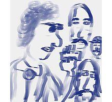 Bob Dylan and his Band Photographic Print