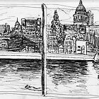 St Paul's From Tate Modern by Luke Axford