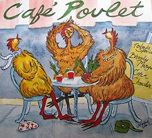 Fowl Play Series: Cafe Chicks by Jeanne Vail