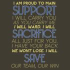 I Am Support by ColorVandal
