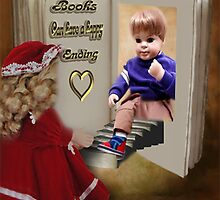 ✾◕‿◕✾BOOKS CAN HAVE A HAPPY ENDING KIDS PICTURE/CARD✾◕‿◕✾ by ✿✿ Bonita ✿✿ ђєℓℓσ