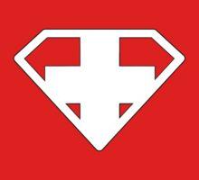 Swiss Superman by David Bankston