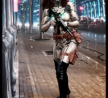 Cyberpunk Photography 042 by Ian Sokoliwski