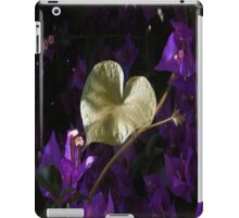 A Heart of Gold Leaf of Morning Glory iPad Case/Skin