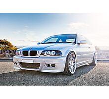 BMW 3 Series E46 - Digital Blend Photographic Print
