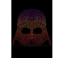 DarthNeonVader Photographic Print
