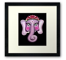 Ganesha - Lord of Good Fortunes Framed Print