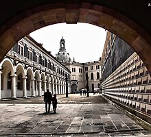 A Corner of Dresden by Bernai Velarde