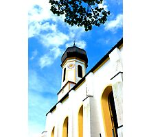 Church on top Photographic Print