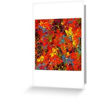 1116 Abstract Thought Greeting Card