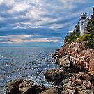 USA. Maine. Mount Desert Island. Bass Harbor Lighthouse. by vadim19