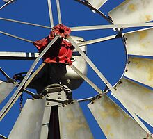 Windmill Close Up by WildestArt