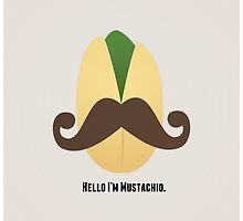 Hello I'm Mustachio by indurdesign