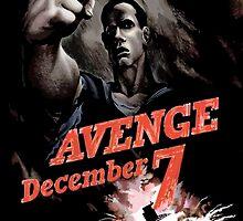 Avenge December 7th by warishellstore
