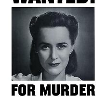 Wanted For Murder Her Careless Talk Costs Lives by warishellstore