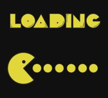 Pac-Man Loading by Ravravine