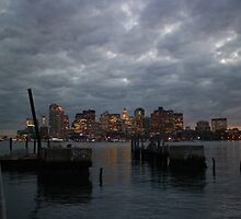 Boston North End by Tooka