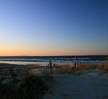 Sandy Neck Beach at Sunset by Tooka