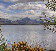 Loch Maree And Slioch by Jamie  Green