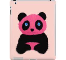 Pink blue-eyed panda iPad Case/Skin