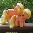Vintage My Little Pony Applejack by unicorngirl