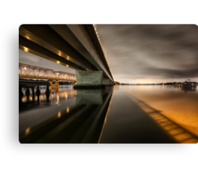 Twin Bridges Canvas Print
