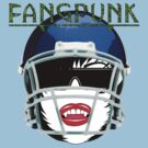 Fangpunk American Football T Shirt by Fangpunk