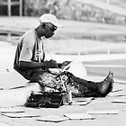 Street Painter - Bahamas, Nassau by photomagma