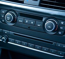 Car Temperature and Audio Controls by GysWorks