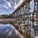 Kilcunda Trestle Bridge by Shari Mattox