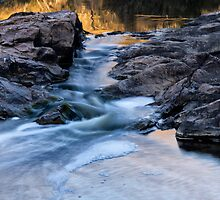 Bell's Rapids - Brigadoon, W.A. by Sandra Chung