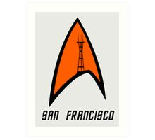 San Francisco Sutro Trek Art Print