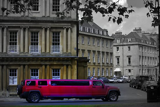 stretch Limo in Royal Circus by Debra Kurs