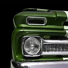 Classic Car (green) by Beate Gube