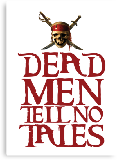 Dead men tell no tales ~ Pirates of the Caribbean by sweetsisters