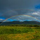 Double Rainbow 4 by Randy Giesbrecht