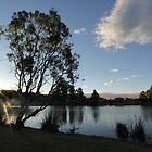 Eaglevale Lake at Sunset by Harry Roma
