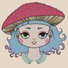Mushroom girl by Angel Szafranko