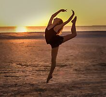 Ballet on the Beach by Delores Knowles