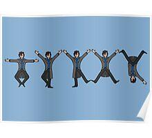 Dancing Sherlock Poster