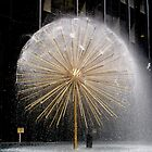 Fountain in Midtown, Manhattan by Koon