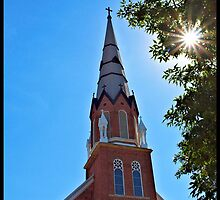 Church Steeple by tvlgoddess