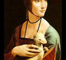 Lady with an Ermine by Janine Whitling