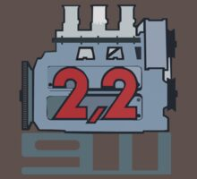 911 Engine 2,2 T-Shirt by Flyinglap
